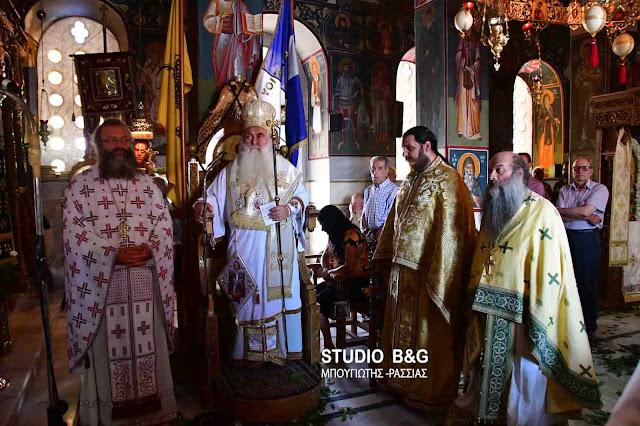 Ολοκληρώθηκαν οι θρησκευτικοί εορτασμοί για τον Άγιο Παντελεήμονα στις Μυκήνες (βίντεο)