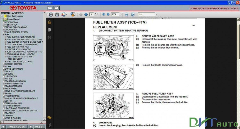 2005 toyota corolla repair manual pdf