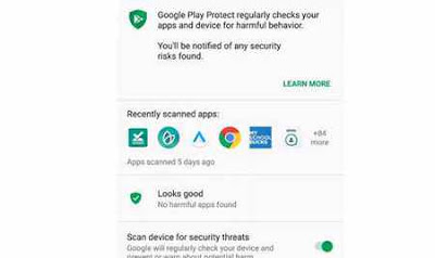 google protect play store