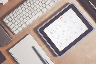 Cronograma e calendário de estudos