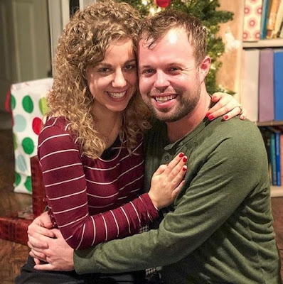 John and Abbie Duggar Christmas 2018