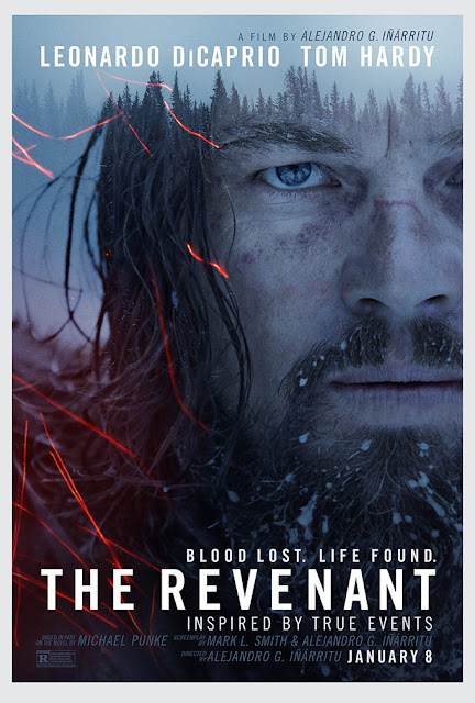 The Revenant, starring Leonardo DiCaprio, directed by Alejandro González Iñárritu