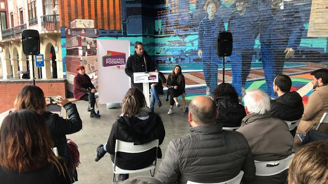 Acto de Elkarrekin Podemos