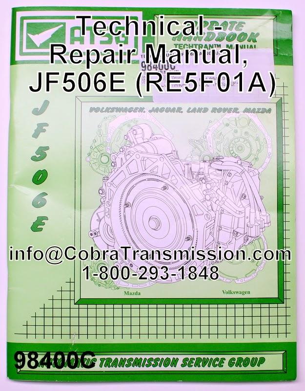 Jatco repair manual