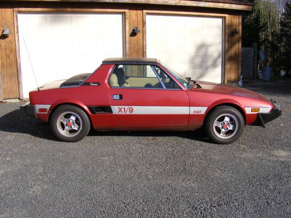 daily turismo slow in slow out 1980 fiat x1 9. Black Bedroom Furniture Sets. Home Design Ideas