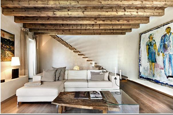 Vicky 39 s home rustica y moderna rustic and modern for Casa moderna rustica