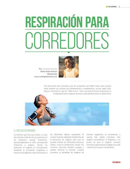 Respiracion para corredores
