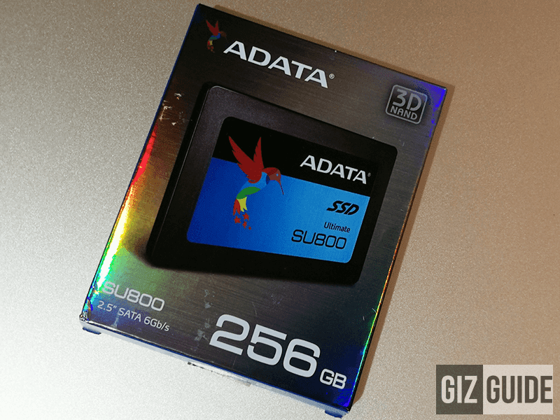 Raffle: ADATA Ultimate SU800 256 SSD