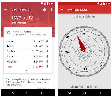 Aplikasi Adzan Terbaik dan Jadwal Sholat  Untuk Android