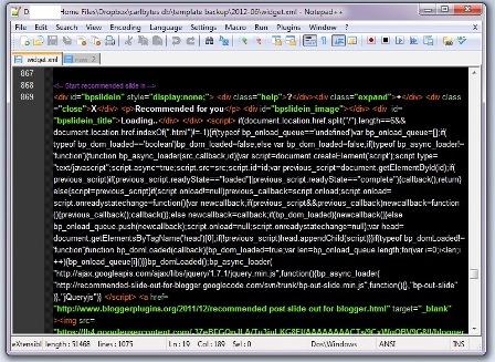 Notepad++ - XML Source Code Color Editor ~ CarlBytes