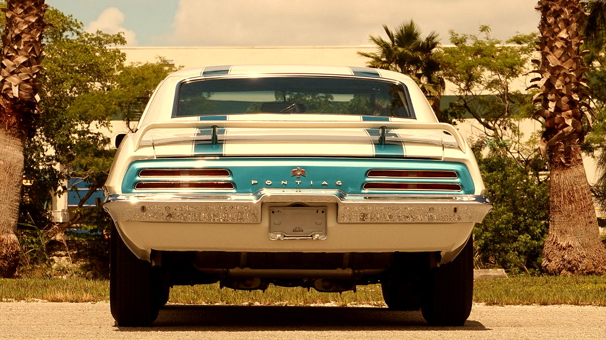 MUSCLE CAR COLLECTION : 1969 Pontiac Trans AM Ram Air IV Review