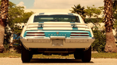 1969 Pontiac Trans AM Ram Air IV Rear