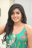 Actress Eesha Latest Pos in Green Floral Jumpsuit at Darshakudu Movie Teaser Launch .COM 0140.JPG