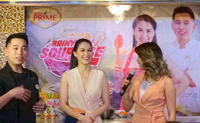 Rainyday SOUPrise With Marian Rivera