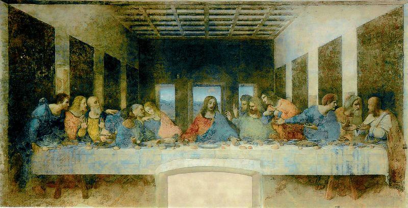 The Last Supper (Il cenacolo ,L'ultima cena) หรือ พระกระยาหารค่ำมื้อสุดท้าย
