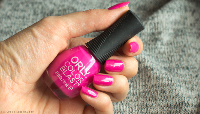 orly color blast nailpolish rollerbabes