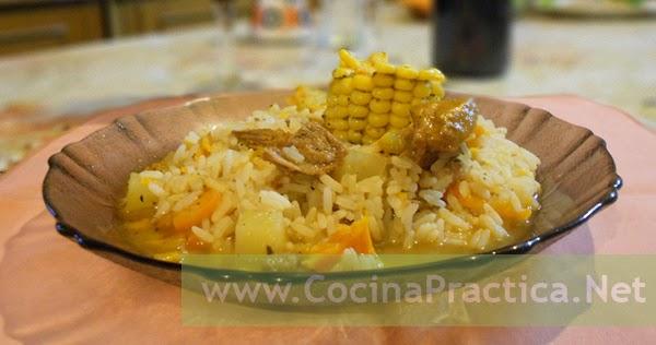 Cocina pr ctica guiso de arroz suave con papas y carne for Cocina practica