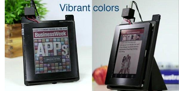 Prototypy kolorowych ekranów w technologii electrowetting