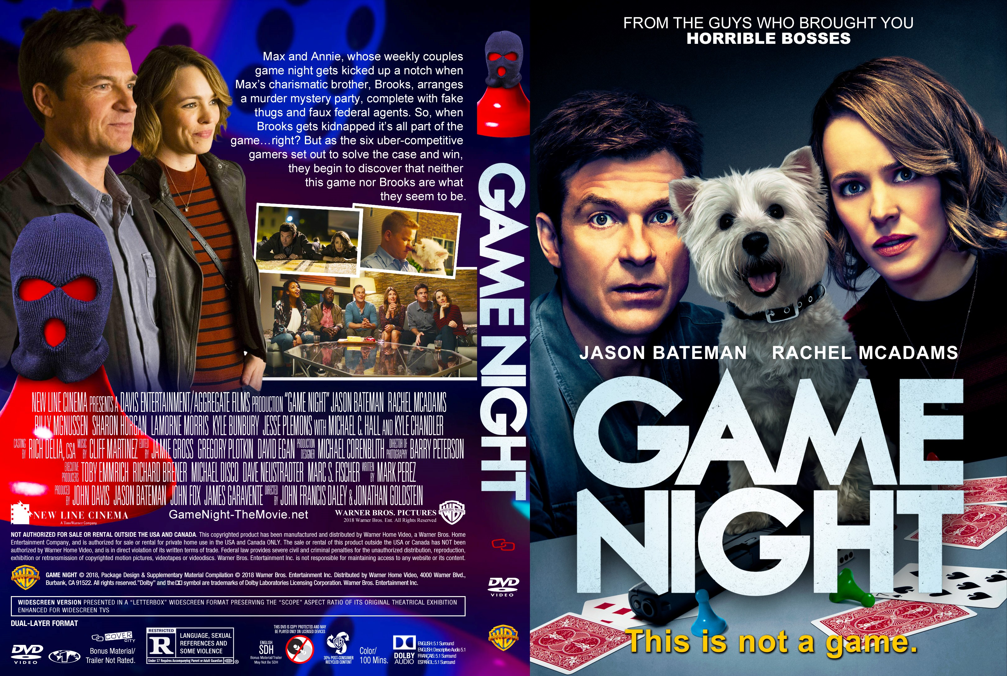 Game Night Dvd Cover  C B Download High Resolution Cover