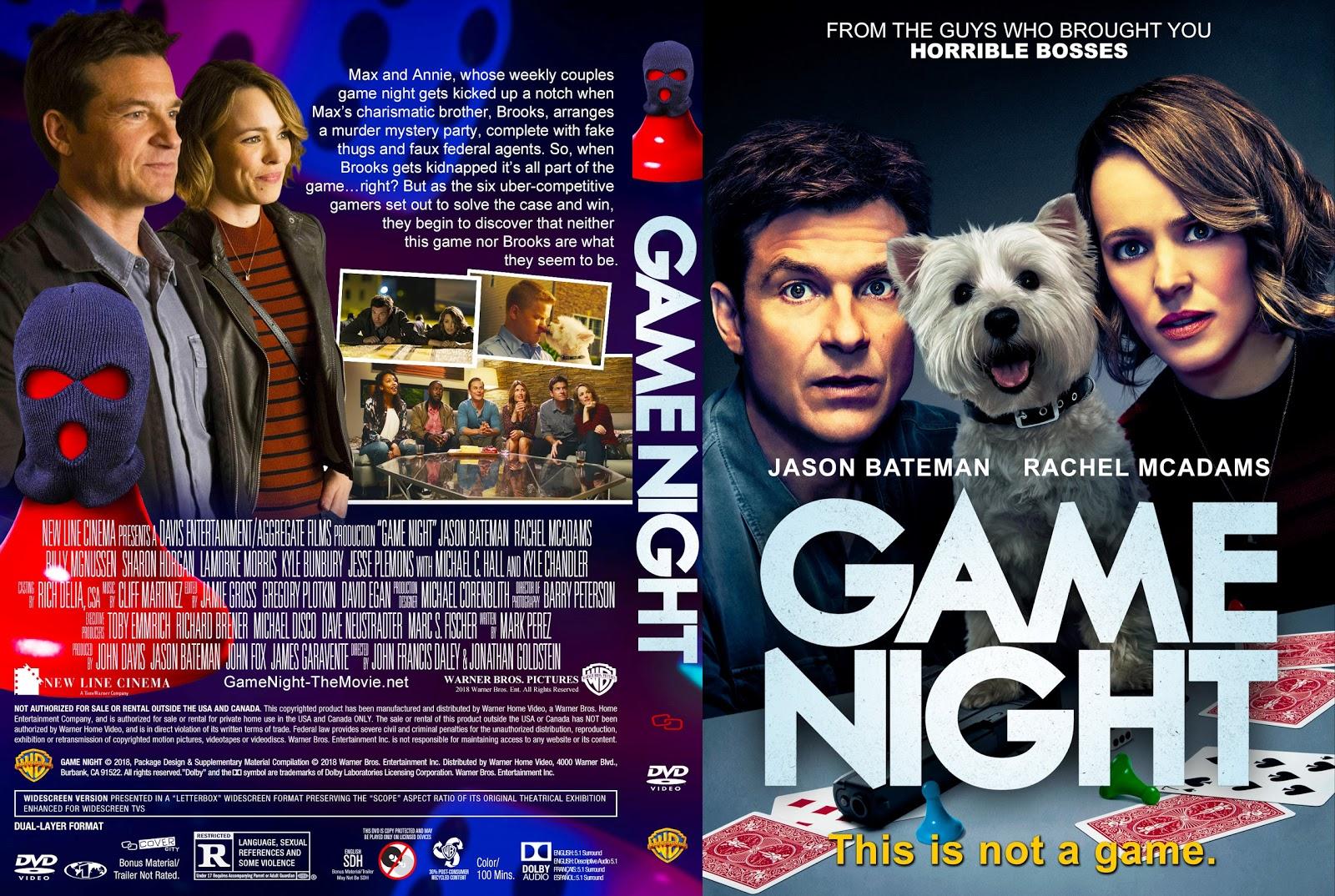 20+ Game Night Blu Ray Pics