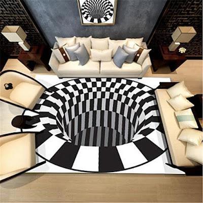 Optical Illusion Carpet
