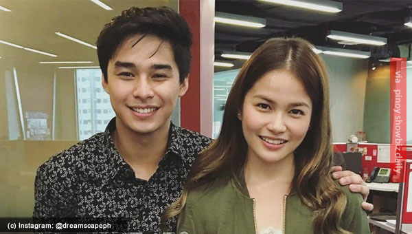 PBB Lucky 7 couple McCoy De Leon and Elisse Joson joins Dreamscape family