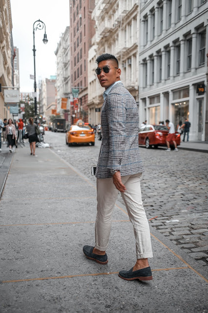 Leo Chan wearing Suit Supply Summer Blazer  Asian Model, Asian Man