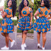Unique Ankara Styles Short Gown