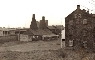 Bottle ovens - hob-mouthed stack type Falcon Pottery, Sturgess Street, Stoke