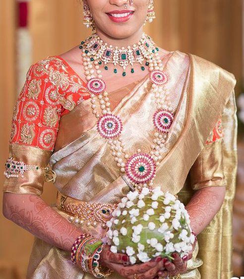 Bride in Pearls Ruby Haram