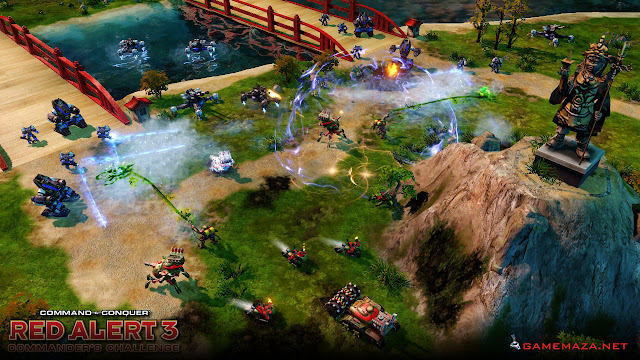 Command & Conquer Red Alert 3 Gameplay Screenshot 4
