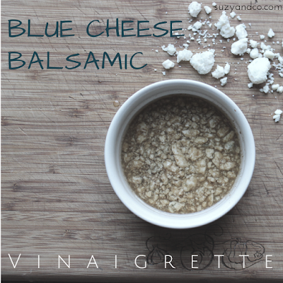 blue cheese balsamic salad dressing