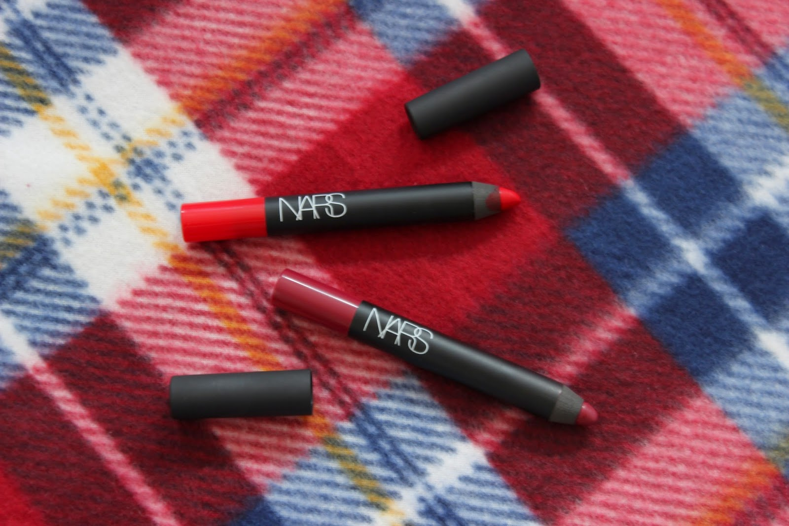 NARS Velvet Matte Lip Pencils // Dragon Girl & Damned