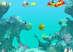 Play Feeding Frenzy Online Game Free