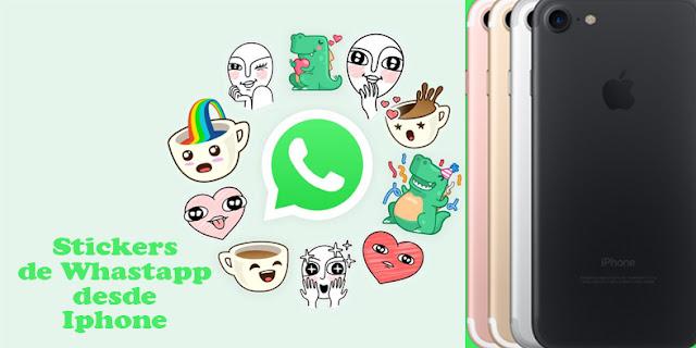 Como crear stickers de Whatsapp en Iphone - iOs