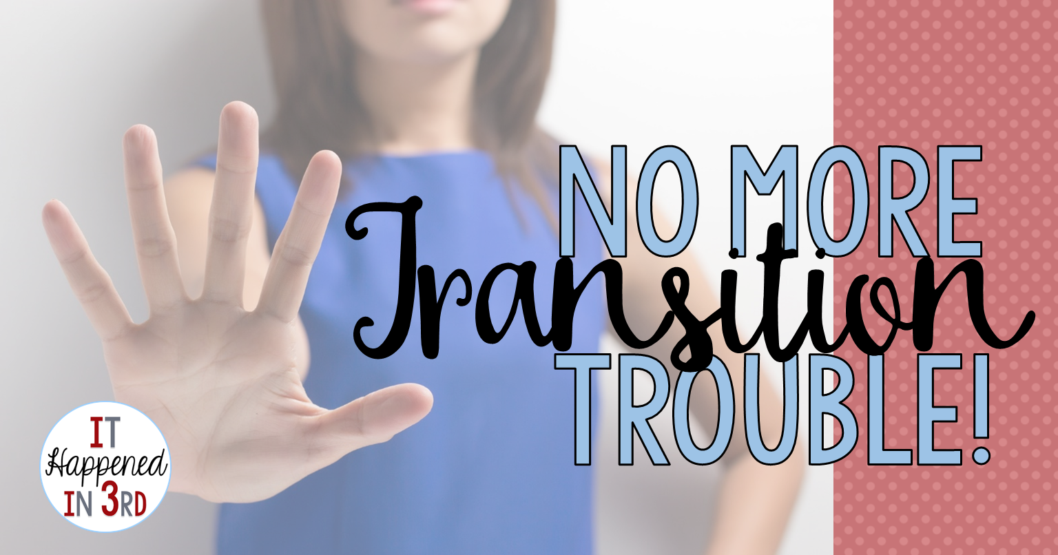 Do you struggle with transitions in the classroom? Ask yourself these 3 questions and before you know it, your students will be flowing smoothly from activity to activity!
