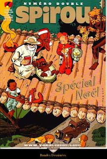 Numéro double, Spirou, spécial Noël, numéro 4104-4105, année 2016