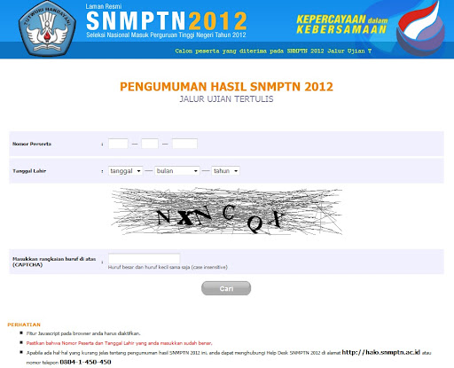 Info Link Pendaftaran Snmptn Sbmptn 2017 Soal Dan Pembahasan Kabarnya Pengumuman Snmptn 2012 Di Majukan Sehari Dikarenakan Proses