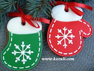 Новогоднее печенье, новогодние пряники