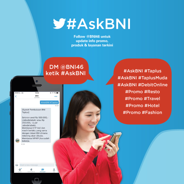 Bank Negara Indonesia Mau Bertanya Nggak Sesat di Jalan #AskBNI