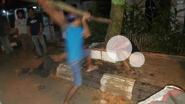3 Begal Bonyok Dihajar Masa di Singaraja