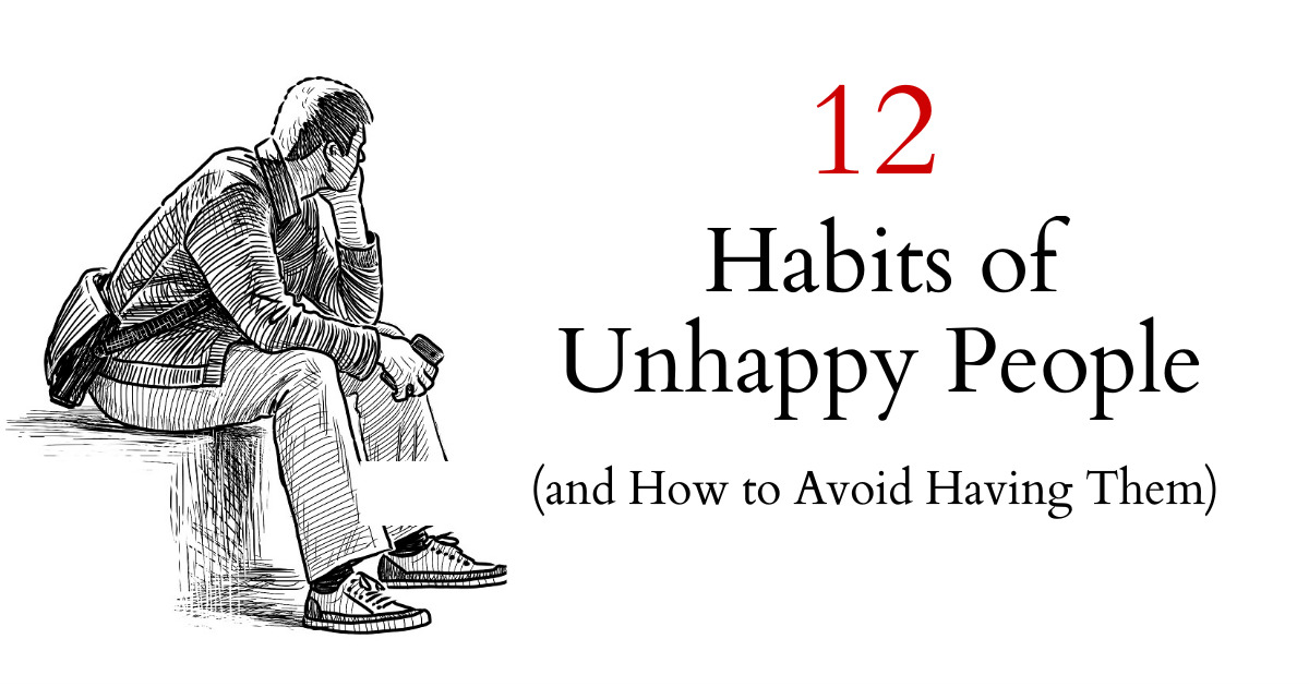 Common Short Quotes Adorable Adorable Quotes 12 Habits Of Unhappy People And How To Avoid
