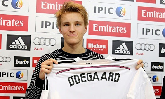 Tutorial Football Skills by Martin Odegaard, The New Rising Star of Real Madrid