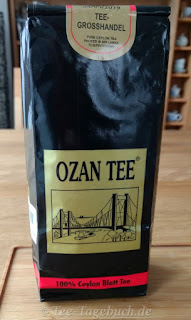 Ozan Ceylon-Tee - die Verpackung
