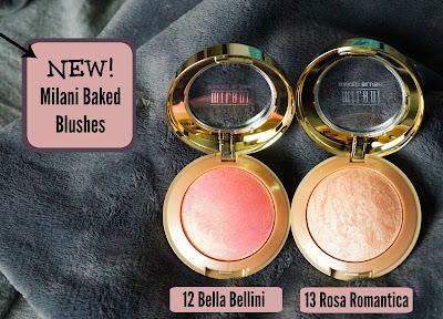 Milani Baked Blushes in Bella Belllini & Rosa Romantica