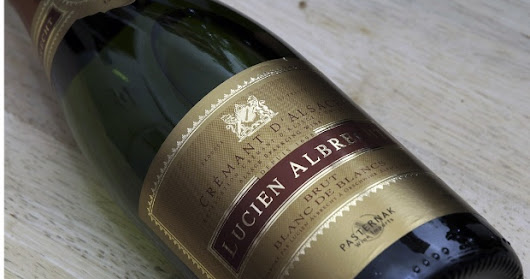 New Year's Eve Bubbly? Lucien Albrecht Cremant d'Alsace, of course.
