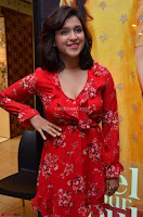 Mannara Chopra in deep neck Short red sleeveless dress Cute Beauty ~  Exclusive Celebrities Galleries 122.JPG