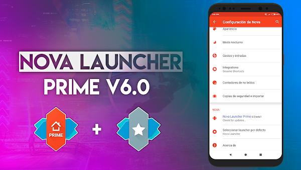 Personaliza tu Android al Máximo, Nova Launcher Prime v6.0 beta 3 + TeslaUnRead
