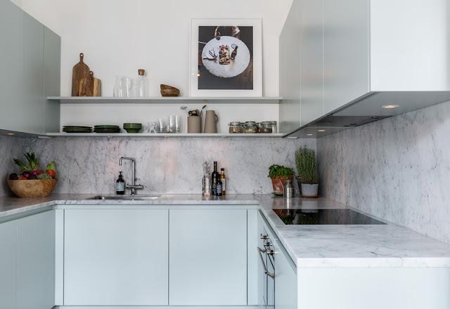 Дизайн-проекты. Элегантная и светлая квартира в Стокгольме