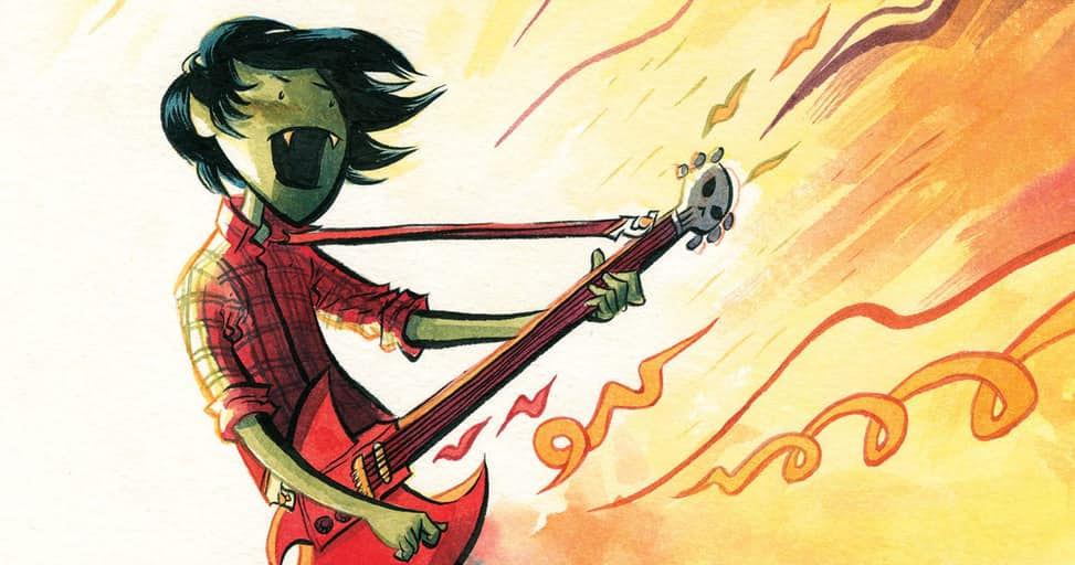 First Look At The New Adventure Time: Marshall Lee Spectacular.